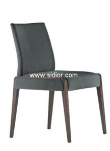 (SD-1008) Modern Hotel Furniture Wooden Fabric Restaurant Dining Chair pictures & photos