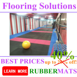 Project for Interlock EVA Foam Rubber Flooring Tiles pictures & photos
