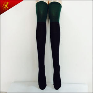 OEM Service Woman Knee Bulk Socks pictures & photos