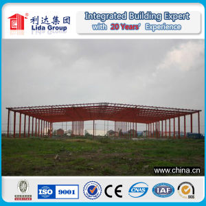 Long Span Steel Strucure Warehouse Light Metal Structure Workshop pictures & photos