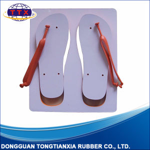 Blank Foamed Rubber Flip Flop pictures & photos