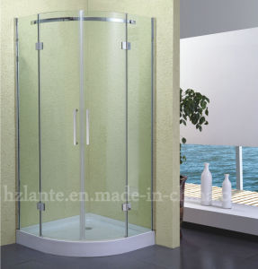 Bathroom Fitting Stainless Steel Shower Enclosure with Low Tray (LTS-010) pictures & photos