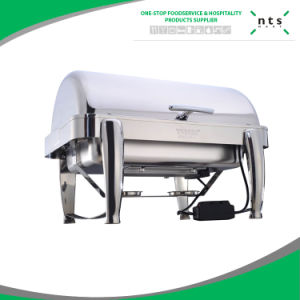 Full Size Roll Top Chafer for Buffet, Chafing Dish pictures & photos