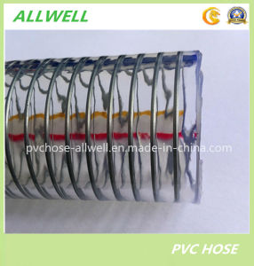 PVC Plastic Steel Wire Reinforced Hose Water Garden Hydraulic Industry Pipe Hose pictures & photos