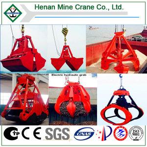 Hydraulic Grab Clamshell Bucket Overhead Crane for Handling Bulk Material