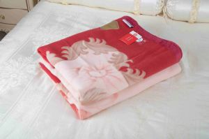 Woven Woolen Pure Wool Blanket (NMQ-WT010) pictures & photos