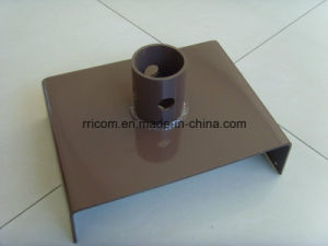 Powder Coated U Head Base Plate for Scaffold Frames pictures & photos