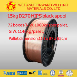 Gas Shield MIG Welding Wire Roll Er70s-6 A5.18 Sg2 for Shipbuilding pictures & photos