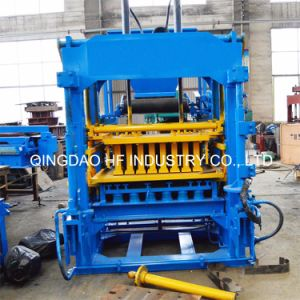 Qt4-15 Commercial Electric Interlocking Cement Brick Making Machine pictures & photos