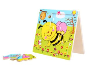 Cute Plywood Cartoon Bee Puzzle pictures & photos
