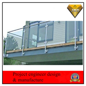 Stainless Steel Glass Fence for Building pictures & photos