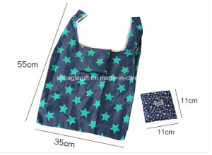 Essential Bespoke Polyester Folding Laundry Bag with Elastic Strap pictures & photos