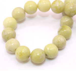 Size 4 6 8 10 12mm Natural Fynchenite Stone Yellow Sapphire Gemstone pictures & photos