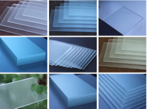 Low Iron Super Quality Frosted Acid Etced Tempered Glass pictures & photos