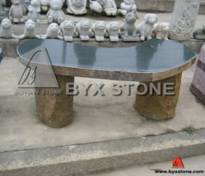 Green Stone Garden Bench for Decoration pictures & photos