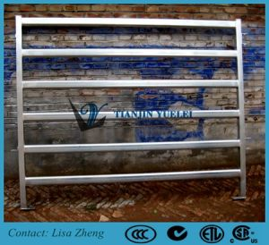 Portable Cattle Panels/Yard Panels Oval 6 Rails pictures & photos