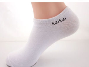 Factory Bulk Production Cotton Material Promotion Socks pictures & photos