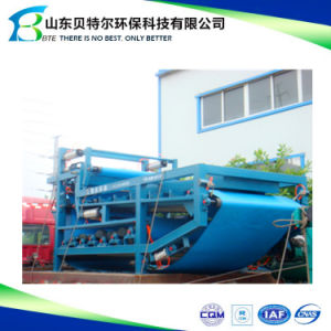 Belt Filter Press for Sludge Dewatering Treatment pictures & photos