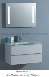 Sanitaryware Bathroom Cabinet Vanity with LED Mirror pictures & photos