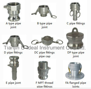 Aluminum - Stainless Steel Pipe Quick Fitting-Pipe Tube Coupling pictures & photos