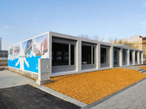 PU/EPS Rock Wool Sandwich Wall Panel Container Home pictures & photos