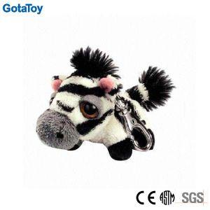 Custom Plush Toy Zebra Keychain Stuffed Soft Toy Keyring pictures & photos