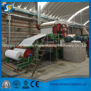 787 Toilet Tissue Paper Machine From Top Manufacturer Shunfu Machinery pictures & photos
