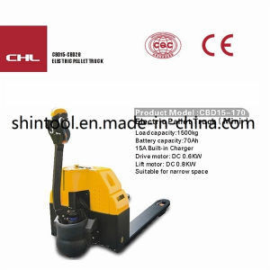 Electric Pallet Truck Cbd15-170 Mini Pallet Truck Electric Pallet Truck pictures & photos