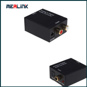 Digital Toslink Audio to Analog R/L Audio Converter pictures & photos