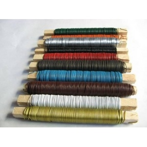 China Supplier Good Quality PVC Coated Florist Wire pictures & photos