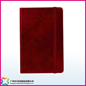 Hardcover Notebook with Flocked Covers (xc-6-001) pictures & photos