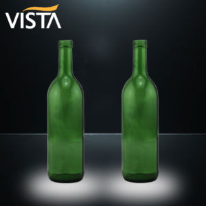 750ml Green Wine Bottle with Screw Top pictures & photos