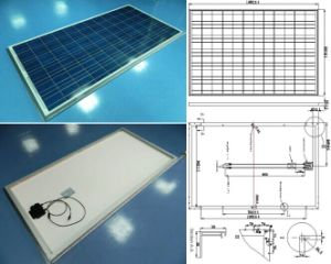 27V 200W Polycrystalline Solar Panel PV Module with TUV Approved pictures & photos