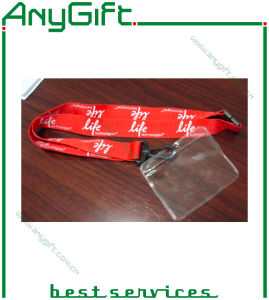Heat Transfer Pring Ribbon/ Lanyard with Customized Logo (LAG-LY-01) pictures & photos