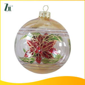 Colorful Handblown Glass Ball for Christmas Gift pictures & photos