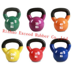 Gym Equipment Fitness Equipment Exercise Vinyl Kettlebell