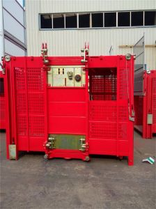Ce Approved Hsjj 2 Ton Construction Elevator Hoist pictures & photos