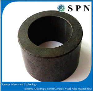 Hard Ferrite Magnet Sintered Permanent Ring Magnet for Motors pictures & photos