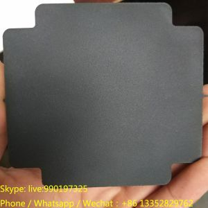 10mm Thickness Black Matt Acrylic with Cutting Shape pictures & photos