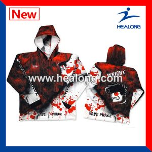 Healong Top Sale Sportswear Digital Printing Sublimation Fishing Shirt pictures & photos