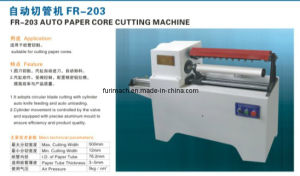 Automatic Paper Tube Cutting Machine pictures & photos
