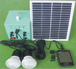 5W Mini Solar System (GP-SS-005W) pictures & photos