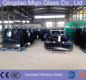 Tempered Grey Low-E Insulated Window Glass pictures & photos
