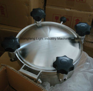 200mm Stainless Steel Food Grade Round Pressure Manhole Covers