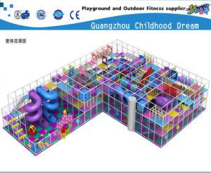 Theme Park Indoor Plastic Playground Slide Equipment (HC-22336) pictures & photos