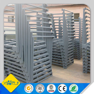 Industrial or Warehouse Movable Stacking Rack with CE
