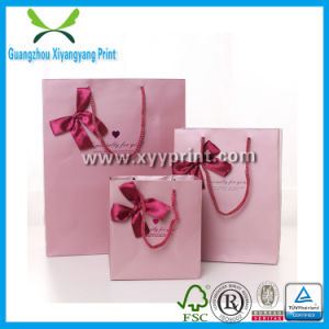 Custom Cute Paper Hand Bag with Logo Printed pictures & photos