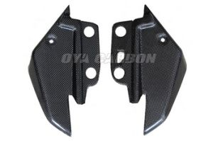 Carbon Fiber Small Side Panels with Internal Lugs & Foam for Aprilia Shiver pictures & photos