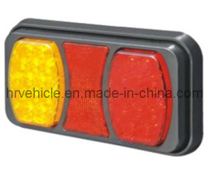 LED Tail Stop Indicator Light with Reflector for Truck pictures & photos