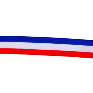 National Flag Tape Tri-Color Webbing pictures & photos